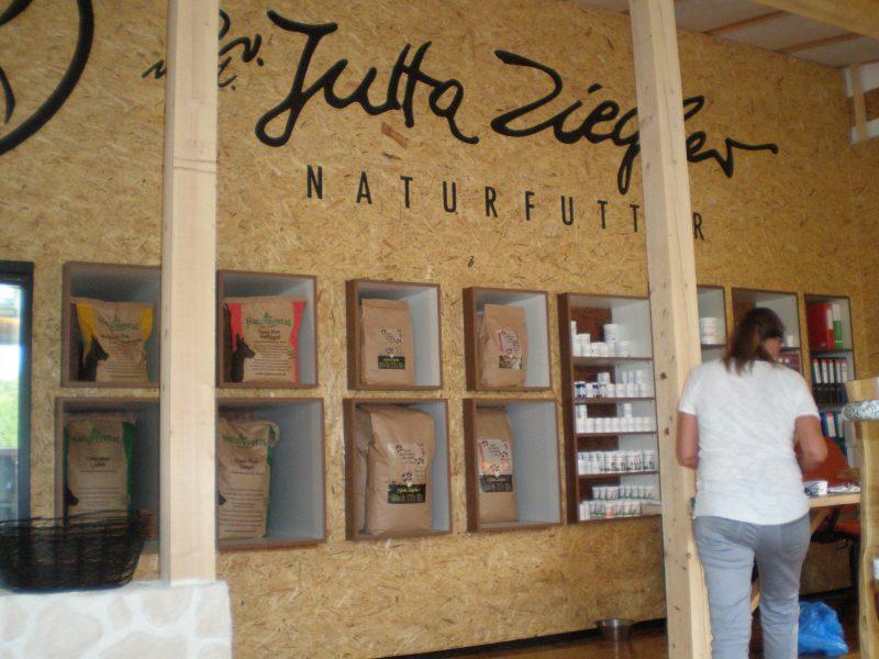 Jutta Ziegler Naturfutterlädchen in Hallein