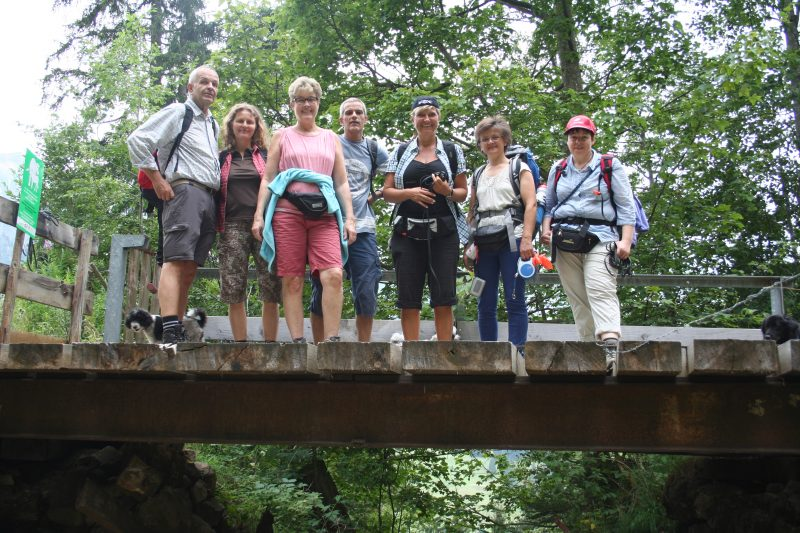 Tolle Wandergruppe
